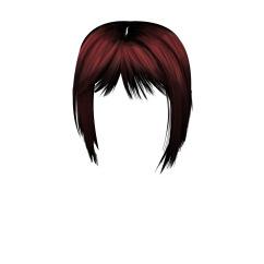 Hair colouring RGB Merged